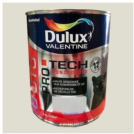 DULUX VALENTINE Peinture Bois PRO TECH Blanc crème - 2,5 L
