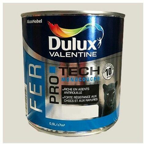 DULUX VALENTINE Peinture Fer PRO TECH Bleu marine - 0,5 L