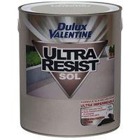 DULUX VALENTINE - Peinture - Ultra résist sol - gris orly - 2.5 L