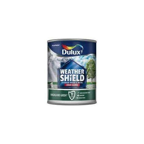 Dulux Weathershield Exterior Gloss 750ml Highland Green