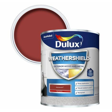 """main image of """"Dulux Weathershield Exterior High Gloss Paint - All Colours and Sizes"""""""