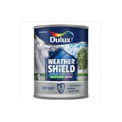 Dulux Weathershield Exterior Satin 750ml Dove Slate