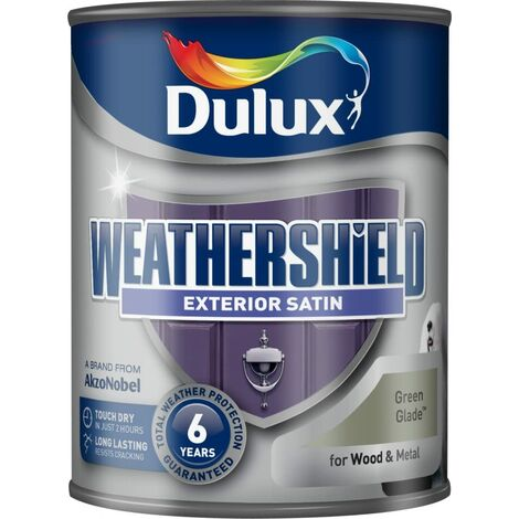 Dulux Weathershield Exterior Satin 750ml Green Glade