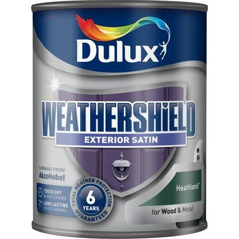Dulux Weathershield Exterior Satin 750ml Heathland