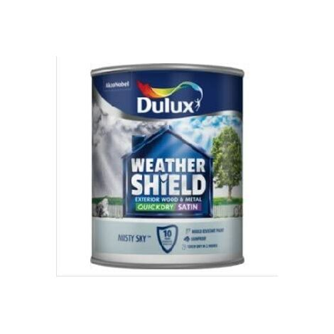 Dulux Weathershield Exterior Satin 750ml Misty Sky