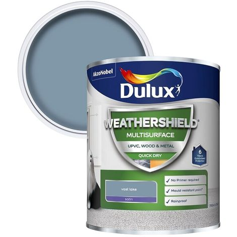 "main image of ""Dulux Weathershield Multi Surface Quick Dry Satin 750ml (choose colour)"""