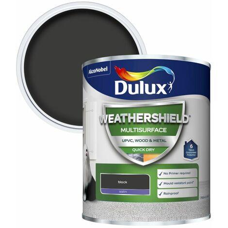 Dulux Weathershield Multi Surface Quick Dry Satin 2.5L (choose colour)