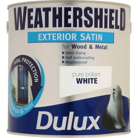 Dulux Weathershield PBW Exterior Satin 2.5L
