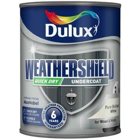"main image of ""Dulux Weathershield PBW Exterior Undercoat 750ml"""