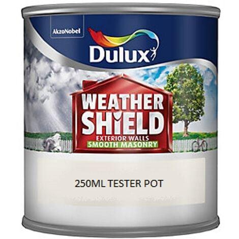 Dulux Weathershield Smooth Masonry - 250ml - GARDENIA