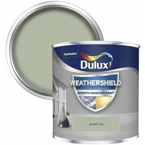 Dulux Weathershield Smooth Masonry - 250ml - GREEN IVY