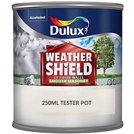 Dulux Weathershield Smooth Masonry - 250ml - MUTED GOLD