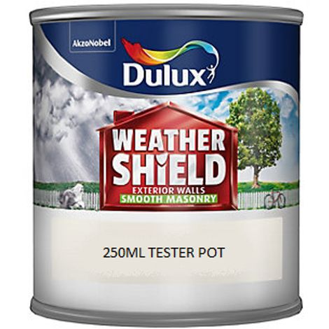"""main image of """"Dulux Weathershield Smooth Masonry 250ml Tester Pots - All Colours"""""""