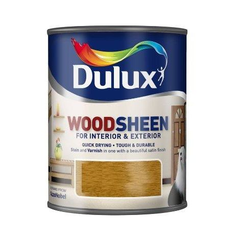 Dulux Woodsheen - Interior & Exterior - French Oak - 750ML