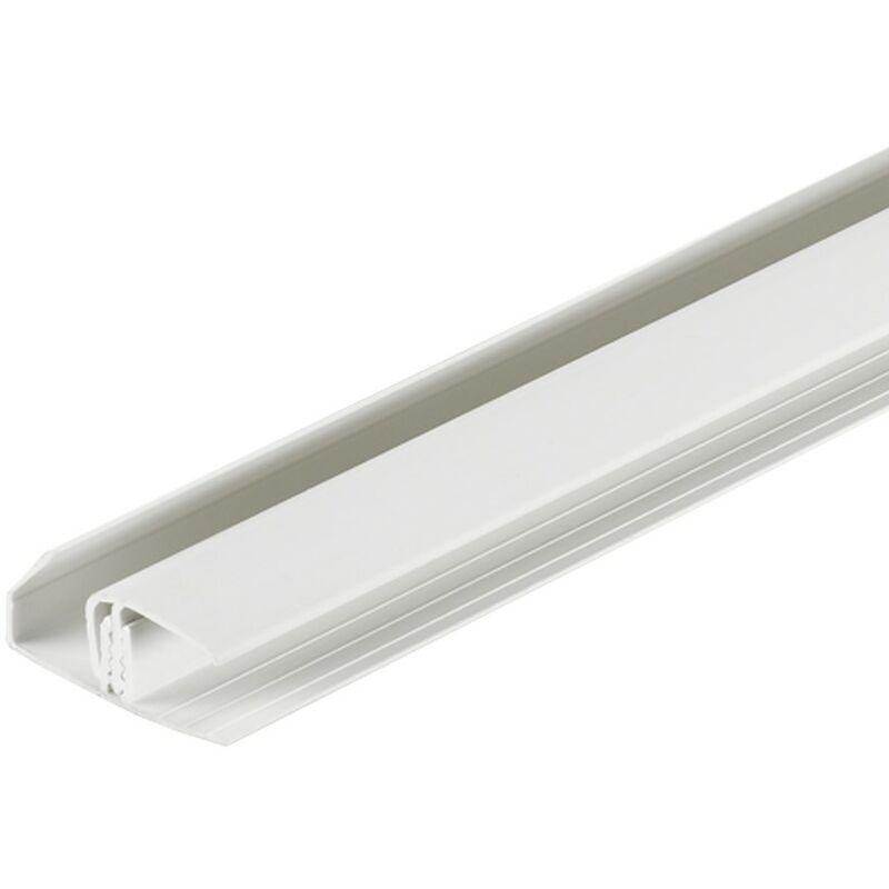 Image of Dumatrim Multifunctional Trim - Grey White 2600mm