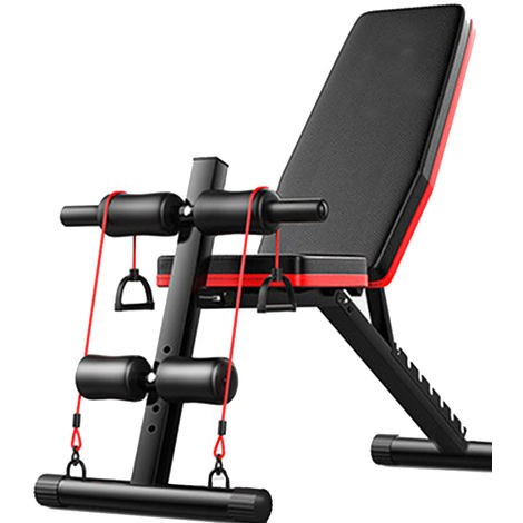 Dumbbell Bench Sit Up Stool Fitness Workout Gym Exercise Training Equipment