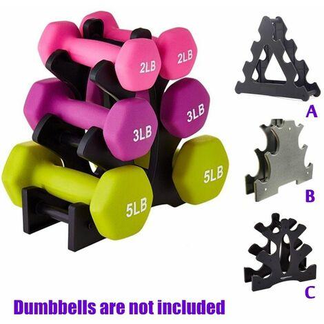 Dumbbell Rack Holder Lifting Weight Dumbbell Rack Holder Exercise Equipment Indoor Sport Tools (Dumbbells are not included)
