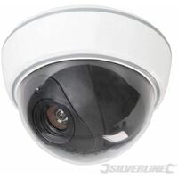 Dummy Security Dome Camera with LED - 3 x AA (828951)
