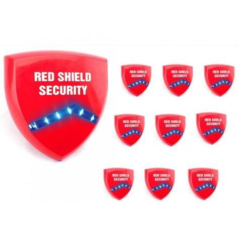 Dummy Siren Trade Pack (Red Shield Logo). [005-3579-RShield]
