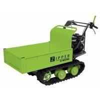 Dumper mini ZIPPER ZI-MD300 minidumper de orugas carga 300kg 4,8Kw quita nieves