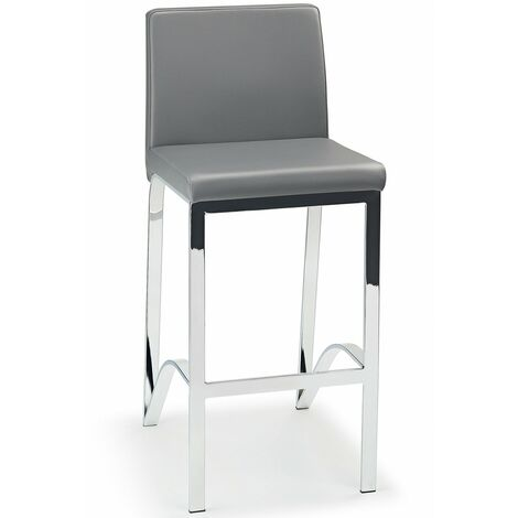 Duncan Fixed Height Chrome Frame With Padded Seat