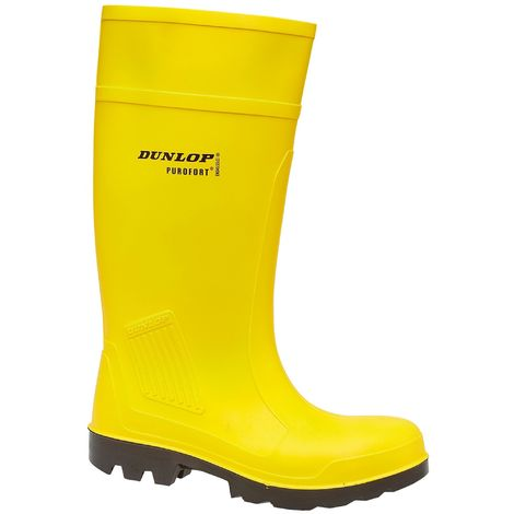 Dunlop C462241 Purofort Full Safety Standard / Mens Boots / Safety Wellingtons