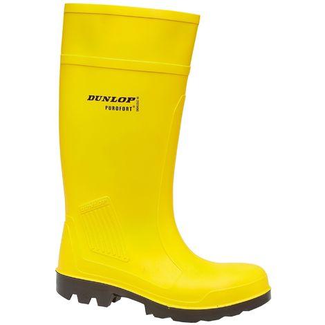 Dunlop C462241 Purofort Full Safety Standard / Mens Boots / Safety Wellingtons
