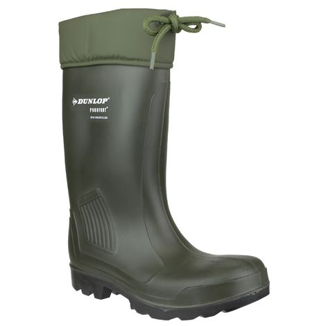 Dunlop C462943.VK / Thermoflex Full Safety Wellington / Mens Safety Boots (38 EUR) (Green)