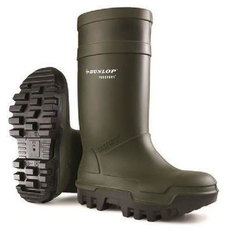 Dunlop C662933 Purofort Thermo + Full Safety Wellington / Mens Boots / Safety Wellingtons