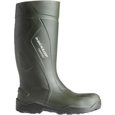 Dunlop C762933 Purofort+ Full Safety Standard Wellington Boxed / Mens Boots
