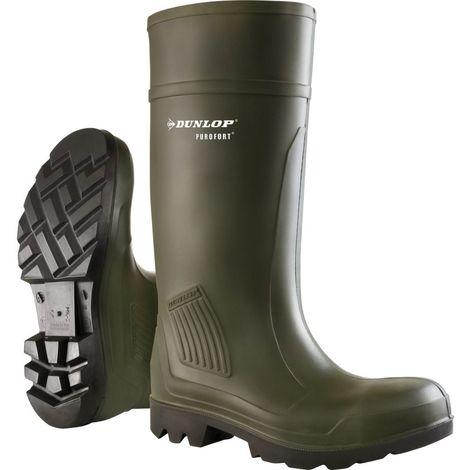 Dunlop D460933 Purofort PRO Non-Safety / Mens Boots / Plain Rubber Wellingtons