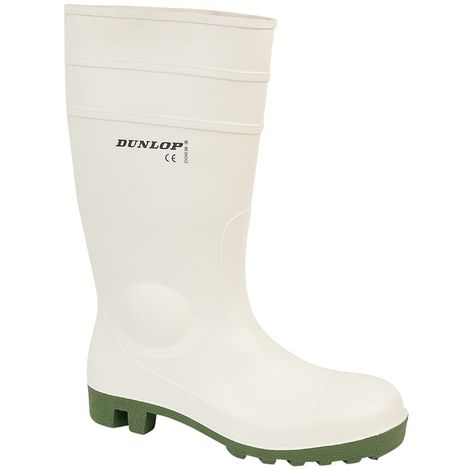 Dunlop FS1800/171BV Wellington / Womens Boots / Safety Wellingtons (39 EUR) (White)