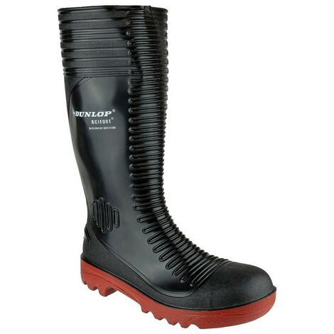 Dunlop Mens Acifort Ribbed Full Safety Wellies