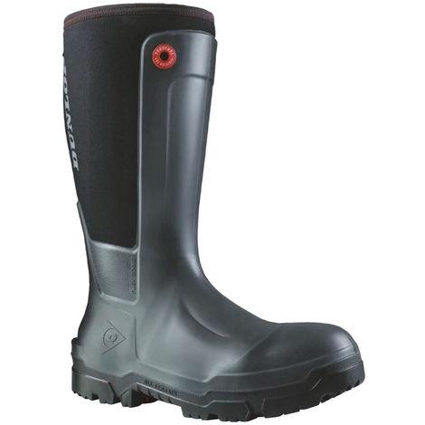 Dunlop Mens Snugboot Workpro Slip On Safety Boot