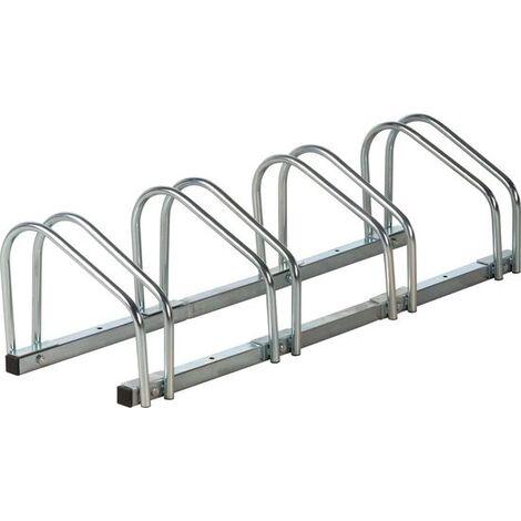 Dunlop Porte-vélo pour quatre vélos 120 cm aluminium