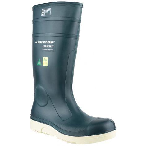 Dunlop Purofort E262673 Comfort Grip Full Unisex Safety Wellington Boots (36 EUR) (Blue)
