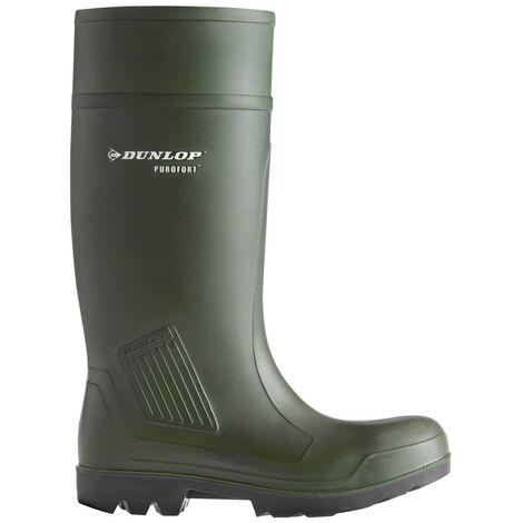304b209d216 Dunlop Purofort Professional Green Safety Wellington Boots