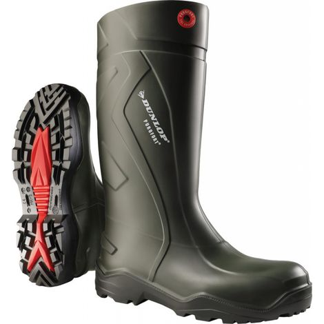 Business & Industrie Dunlop Stiefel Purofort S5 Dunkelgrün En20345 Arbeitskleidung & -schutz