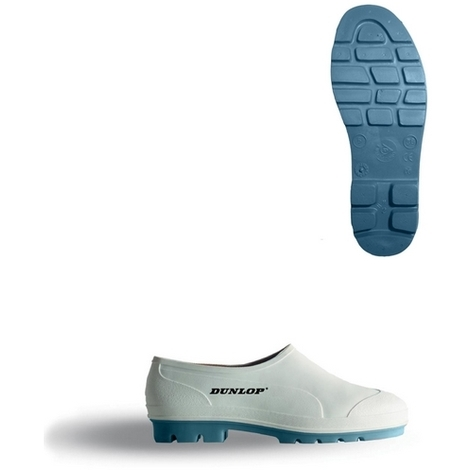 Dunlop WG06 Wellie Shoes White Size 6