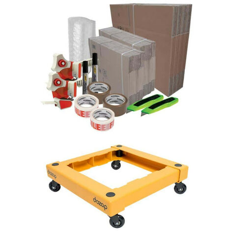 DUO Basic Moving Pack - DOZOP compact dismountable transport trolley