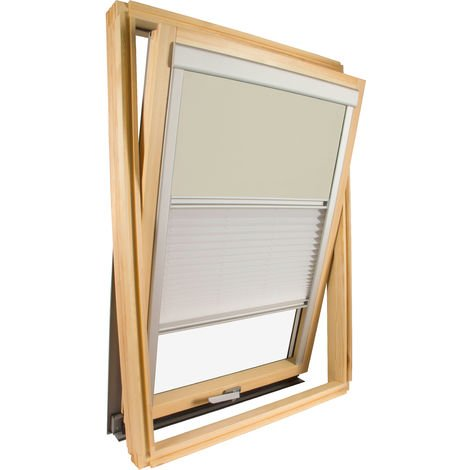 Duo blind compatible with Velux ® roof windows - Several models available