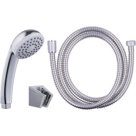 Titular de la cabeza de ducha de metal cromado con fijaciones Resistente