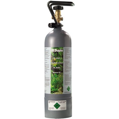 Dupla CO2 Depot - 2.000 g - CO2-Stahlflasche