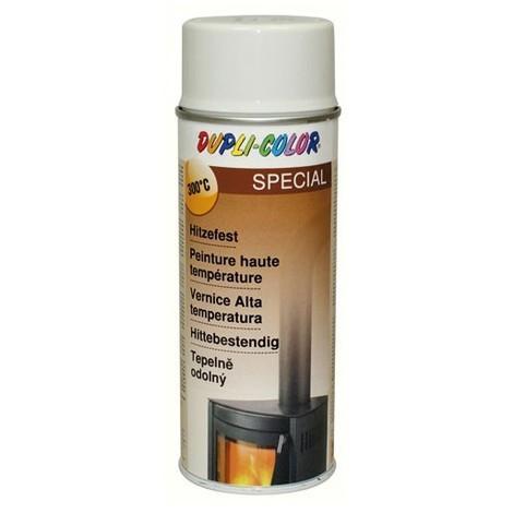 DUPLI COLOR - Peinture color spray blanc haute température 400 ml