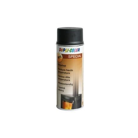 Duplicolor Aérosol peinture haute temperature- Teinte : Noir (Par 6)