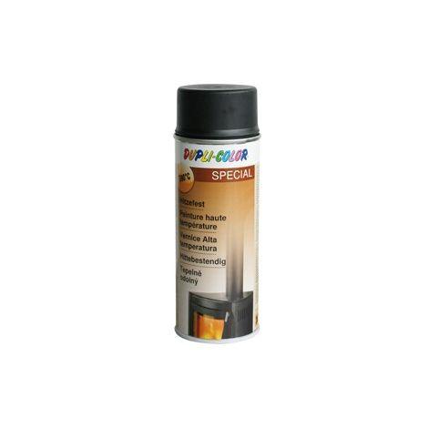 Duplicolor aerosol pintura alto temperatura - Tono : negro (por 6)