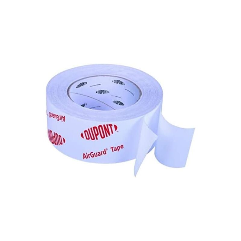 Image of DuPont Air and Vapour Control Layer Tape 60mm x 25m - Airguard