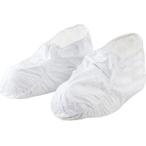 Dupont Tychem Tyv Posas WH 00 Tyvek Shoe Cover White