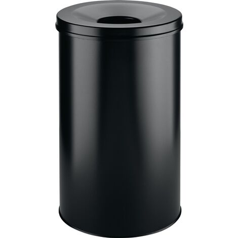Abfallbehälter H662xØ375mm 60l schwarz DURABLE