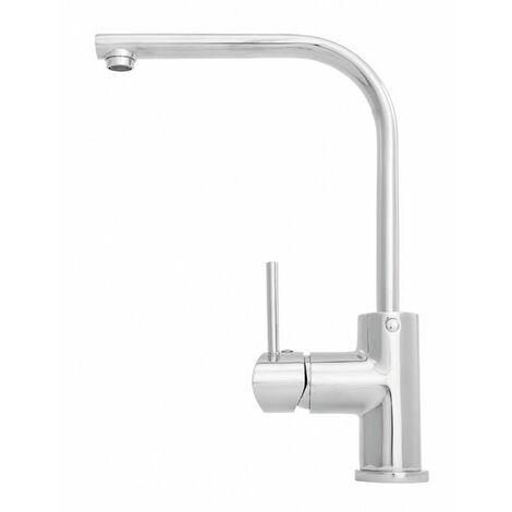 Durable élégante pivotant debout cuisine de pulvérisation robinet d'évier robinet mélangeur céramique